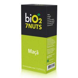 Barra De Castanhas E Frutas Bio2 Nuts Maçã + 7 Castanhas Caixa C