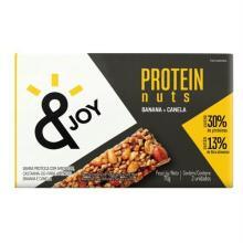 Agtal &Joy Barra Proteína Banana Com Canela 2 Unidades