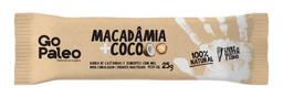 Barra Nuts Go Paleo Macadâmia + Coco 25 g