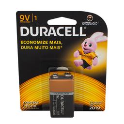 Bateria Alcalina 9 Volts Duracell 1 Und