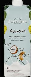 Bebida A Tal Da Castanha Vegetal Castanha Coco 1 L