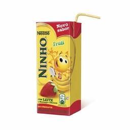 Bebida Láctea Ninho Morango E Banana 200 mL