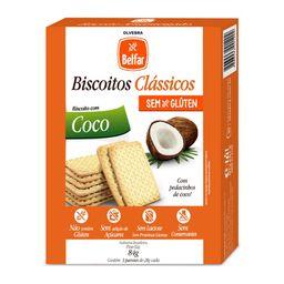 Biscoito Belfar Coco 84 g