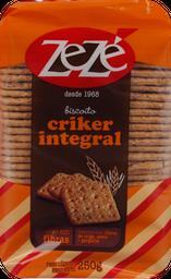 Biscoito Integral Zezé Criker 250 g