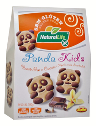 Biscoito Natural Life Panda Kids Baunil Cacau 100 g