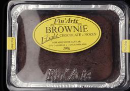 """Brownie De Chocolate E Nozes Fin""""Arte Light 200 g"""