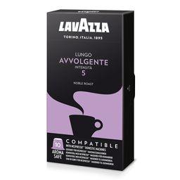 Café Espresso Lungo Avvolgente Lavazza 10 Und