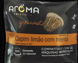 Cápsulas Chá Capim Limão Com Menta Aroma 10 Und