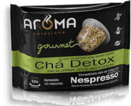 Cápsulas Chá Detox Aroma Com 10 Und