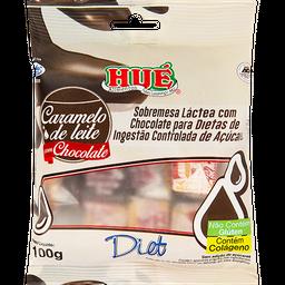 Caramelo De Leite Diet Com Chocolate 100 g