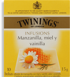 Chá Twinings Camomila, Mel E Baunilha 15 g