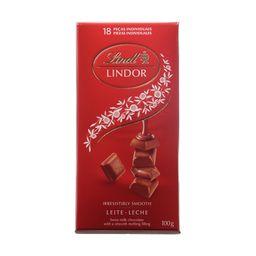 Chocolate Lindt Lindor Milk Com Recheio Cremoso Com 100 g