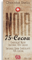 Chocolate Suíço Armargo 75 % Cacau Stella