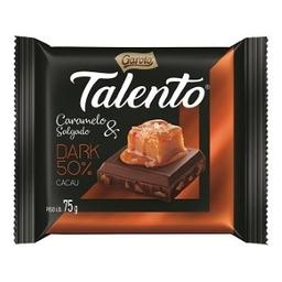 Chocolate Talento Dark Caramelo Salgado 75 g