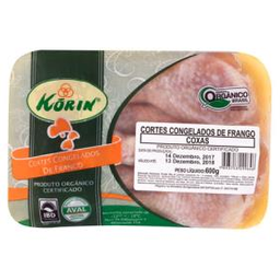 Coxa De Frango Orgânica Korin Bandeja 600 g
