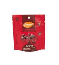 Cranberry Flormel Cobertura Chocolate Zero Adição De Açúcar 30 g