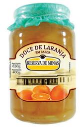 Doce De Laranja Em Calda Reserva De Minas 630 g