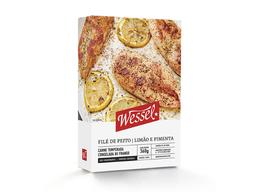 Filé De Frango Limão Com Pimenta Congelado Wessel 360