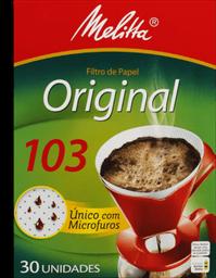 Filtro De Papel Grande Melitta 103 Aroma Max Com 30 Und