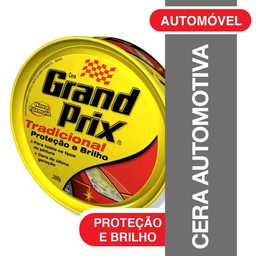 Cera Automotiva Grand Prix Tradicional 200 g