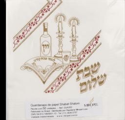 Guardanapo Shabat Shalom Miropel 50 Und