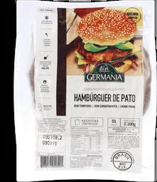 Hambúrguer De Pato Cong Vl Germania 200 g