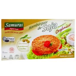 Hambúrguer Soja Samurai Com Azeitona 336 g