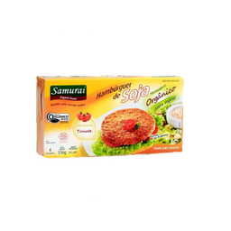 Hambúrguer Soja Samurai Com Tomate 336 g
