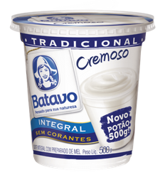 Iogurte Batavo Natural 500 g