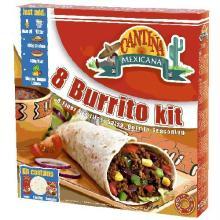 Kit Cantina Mexicana Burrito 525 g