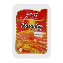 Lasanha À Bolonhesa Fred Sem Glúten 450 g
