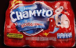 Leite Fermentado Chamyto Pack Com Cada 6 Und 75 g