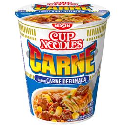 Macarrão Instantâneo Cup Noodles Sabor Carne Defumada Com 69 g