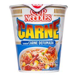 Cup Noodles Macarrão Instantâneo Nissin Carne Deffumada