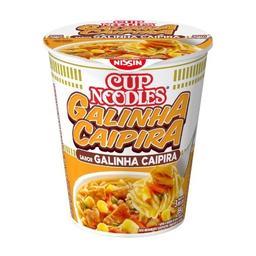 Macarrão Instantâneo Cup Noodles Sabor Galinha Caipira 69 g