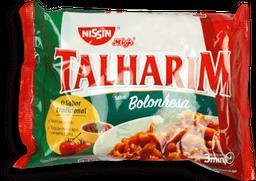 Macarrão Instantâneo Nissin Talharim Sabor Bolonhesa Com 99 g