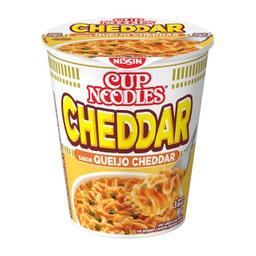 Macarrão Nissin Cup Noodles Cheddar 71 g