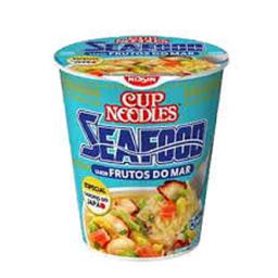 Macarrão Nissin Cup Noodles Frutos Do Mar 67 g