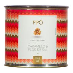 Mini Pipoca Doce Caramelo E Flor De Sal Pipo 72 g