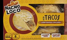 Mini Tacos De Carne Nacho Loco