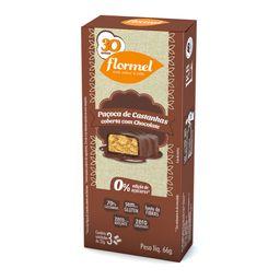 Paçoca De Castanhas Com Chocolate Zero 66 g