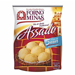 Pão De Queijo Forno De Minas Tradicional Assado 240 g
