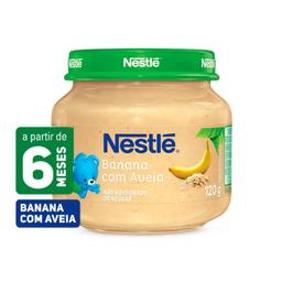 Papinha Nestle Banana Com Aveia 120 g
