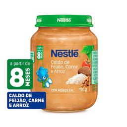 Papinha Nestlé De Caldo De Feijão, Carne E Arroz Com 170 g