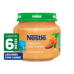Papinha Nestlé De Legumes Com Carne 115 g