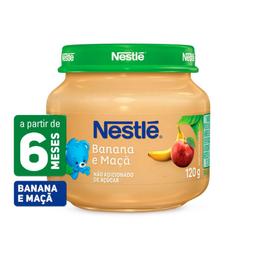 Papinha Nestle Maçã E Banana 120 g