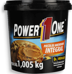 Pasta De Amendoim Integral Power One 1,05 Kg