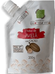 Pasta Nuts Avelã + Cacau Eat Clean Bag 200 g