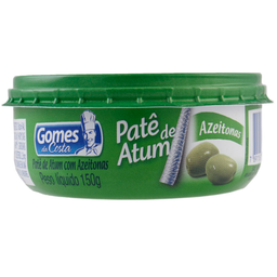 Patê De Atum Com Azeitona Gomes Da Costa 150 g