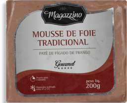 Patê De Fígado De Frango Magazzino 200 g